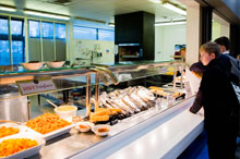 School dinners at Christleton High School