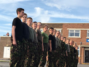 Combined Cadet Force (RAF) at Christleton High School