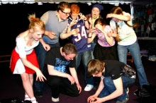 Drama & Performing Arts class at Christleton High School