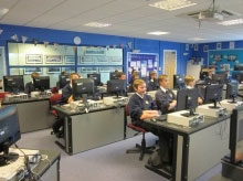 Information & Communications Technology class at Christleton High School