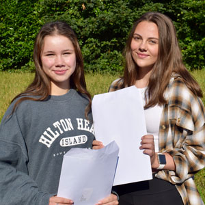 GCSE results day at Christleton High School