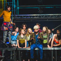 Christleton High School production of Rent
