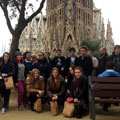 Students of CHS on Malaga Trip