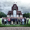 Students of CHS on Belgium - YPRES Battlefields Trip