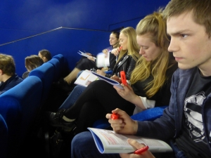 A Level - Business Studies - Grade Booster Workshops - Vue Cinema - Manchester Lowry Trip