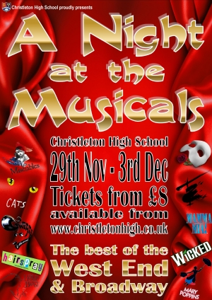 A Night At The Musicals - 29th November to 3rd December