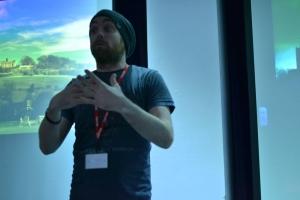 Ben Lumley inspires students