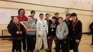 Cheshire High School Fencing Team Competition