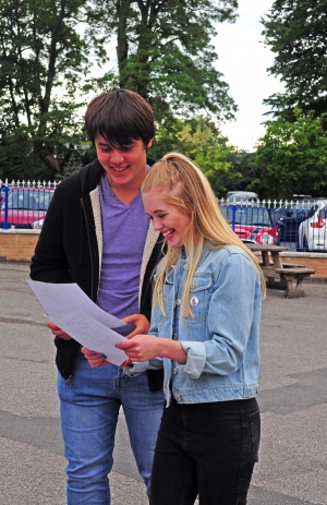 Christleton Students celebrate an excellent set of GCSE results!