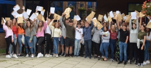 CHRISTLETON STUDENTS CELEBRATE AN EXCELLENT SET OF GCSE RESULTS!!
