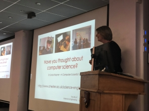 Dr Linda Rayner from Chester University