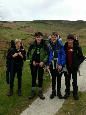 Duke of Edinburgh - Year 10  - (Silver Expedition) Group B, Moel Famau