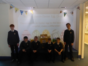 Easter Egg donations for local children's Hospice