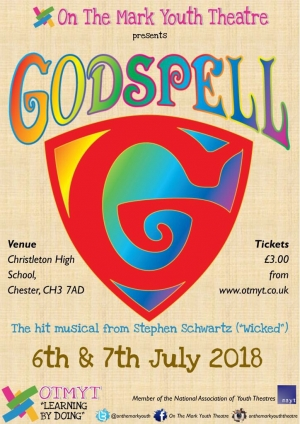 Godspell - 6 & 7 July 2018 - On The Mark Youth Theatre