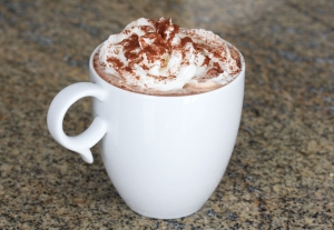 Hot chocolate will be on sale at Year 12 Parents' Evening (Thursday 14 December 2017) for charity Hope House Children's Hospices