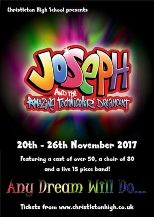Joseph and the Amazing Technicolor Dreamcoat (20th - 26th November 2017)