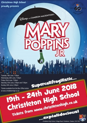 Mary Poppins - Tickets available from the Box Office button on the homepage of the website!