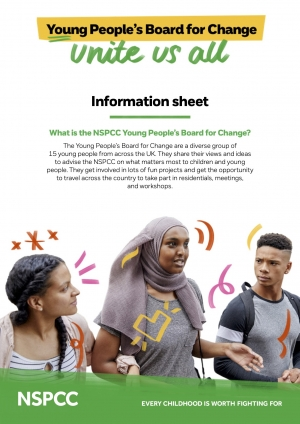 NSPCC Young People's Board For Change - Information