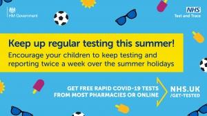 Testing through Summer Holidays