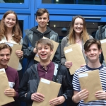 CHRISTLETON SIXTH FORM STUDENTS CELEBRATE  FANTASTIC RESULTS!