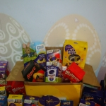 Easter Egg donations  for Save the Family, local Food Bank & Claire House