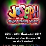 Joseph and the Amazing Technicolor Dreamcoat (20th - 26th November 2017)