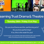 The Learning Trust Drama and Theatre Week 28-31 May 2019