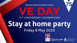 VE day celebrations for Friday, 8th May 2020