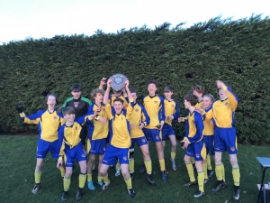Year 10 footballers are crowned Chester and District champions for the 4th year in a row!