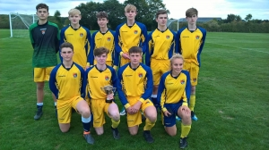 Year 11 Chester and District 8-a-side football champions!