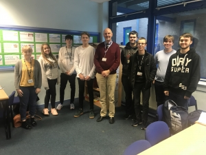 Year 12 BTEC Business Studies students