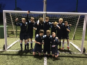 Year 8 Chester & District 7-a-side Champions: Christleton High School!